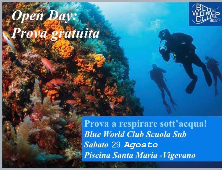 Open day Blue World Club Abbiategrasso